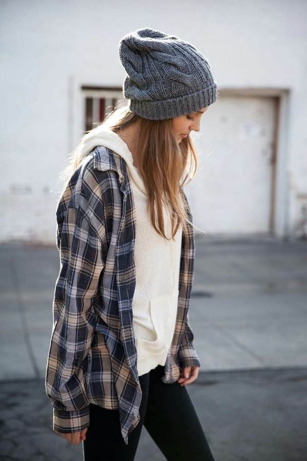Cool Looking Grunge style Outfits for Girls (22)