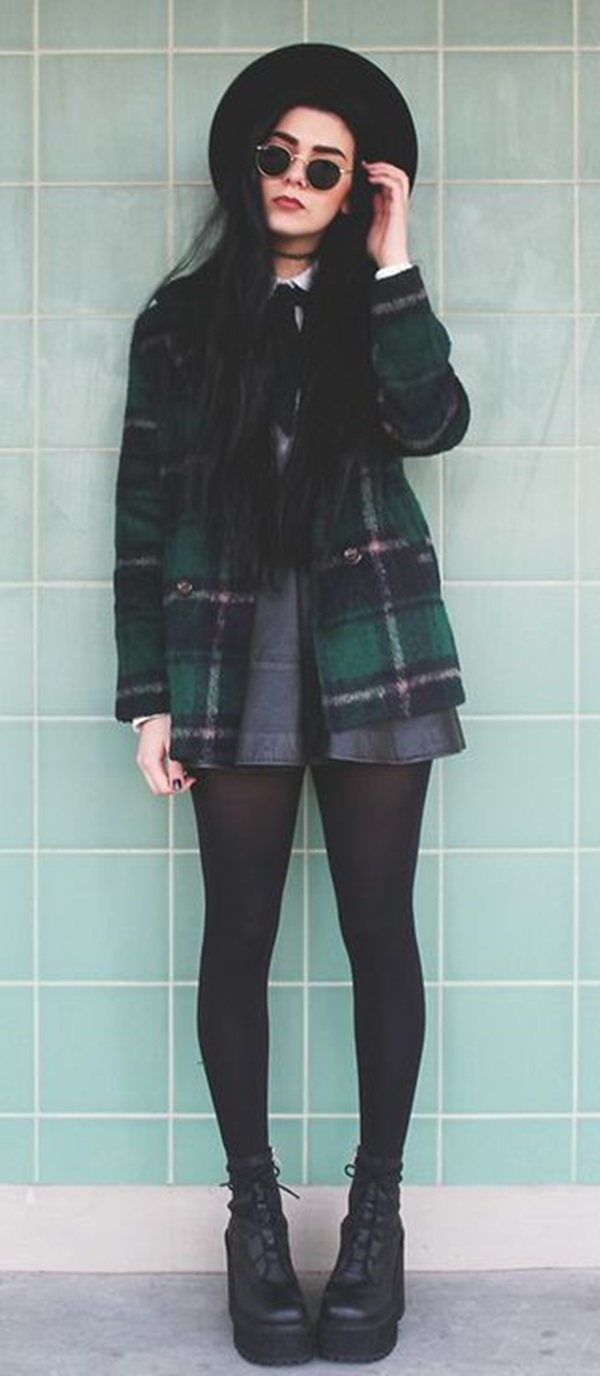 Cool Looking Grunge style Outfits for Girls (5)