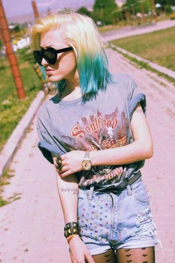 Cool LookingGrunge style Outfits for Girls (8)