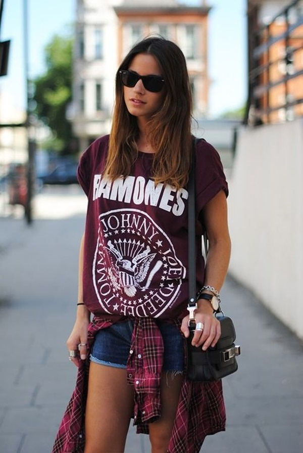 Cool Looking Grunge style Outfits for Girls (9)