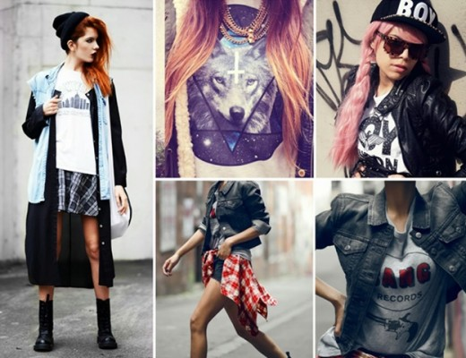 Cool Looking Grunge style Outfits for Girls