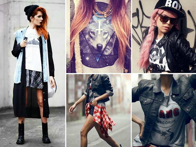 50 Cool LookingGrunge style Outfits for Girls