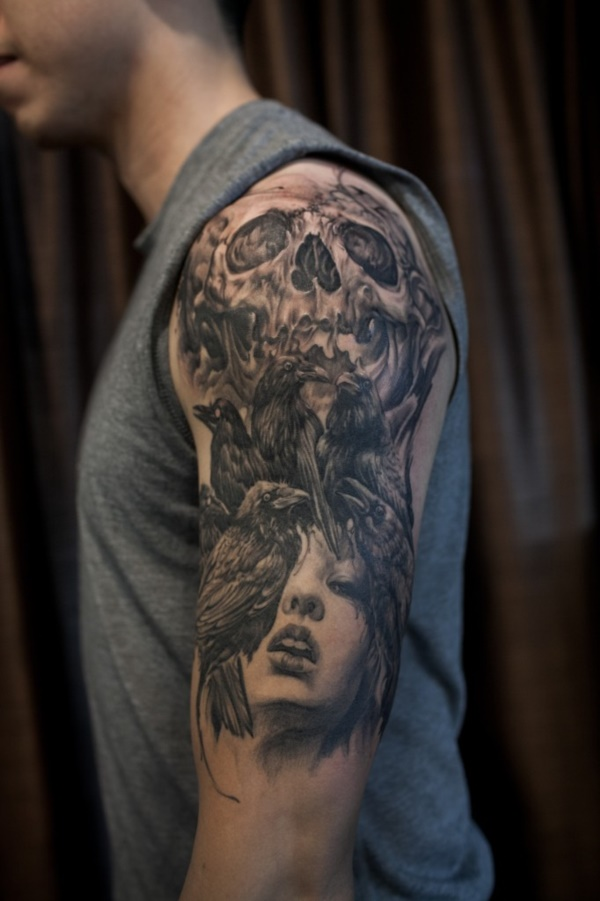 stunning black and grey tattoos0211