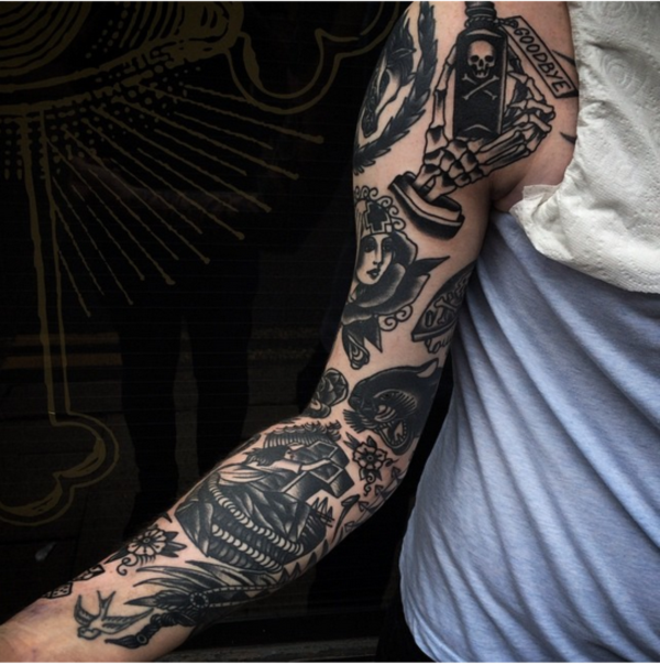 stunning black and grey tattoos0341