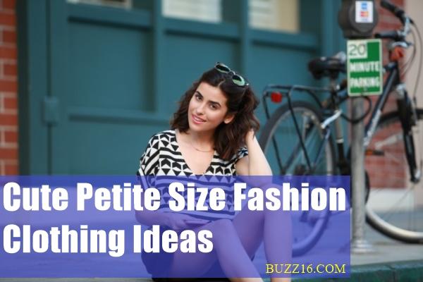 Cute Petite Size Fashion Clothing Ideas0391