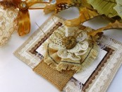 burlap and lace wedding invitations8