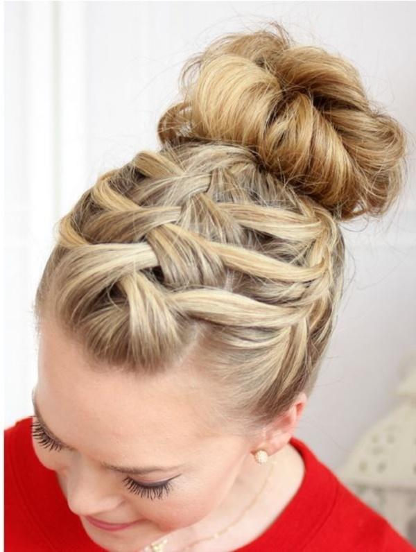 party hairbuns0331