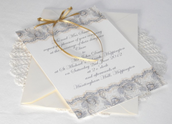 romantic wedding card designs0331