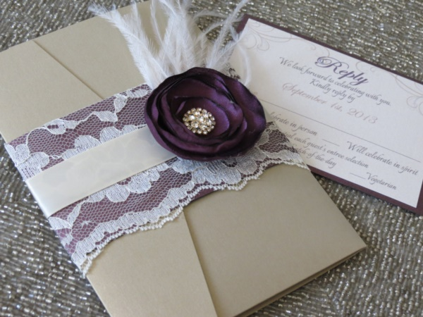 romantic wedding card designs0431