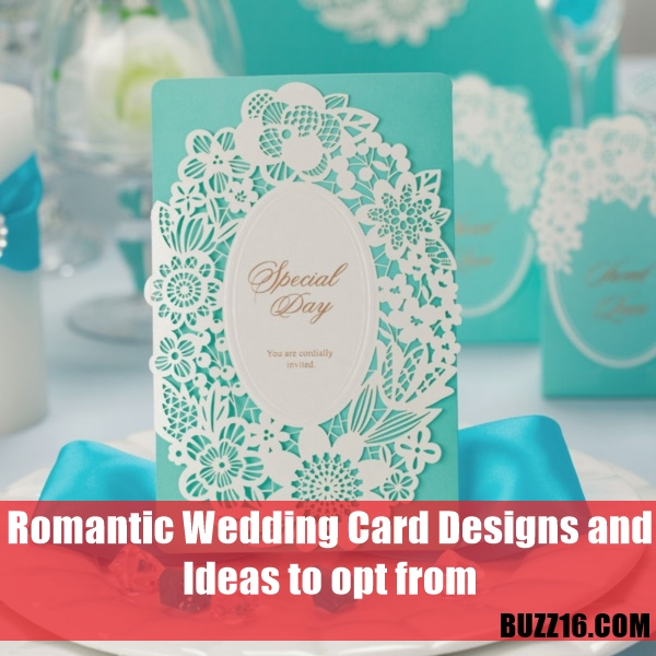 40 Romantic Wedding Card Designs And Ideas To Opt From