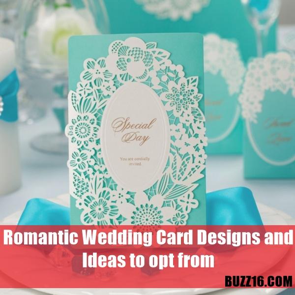 romantic wedding card designs0451