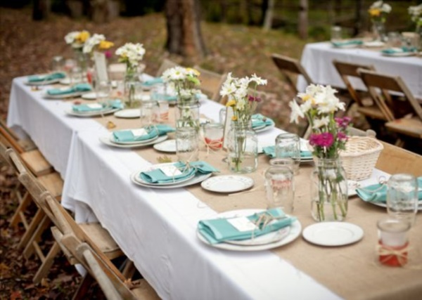 50 romantic wedding table decorations ideas for Outdoor table decor ideas