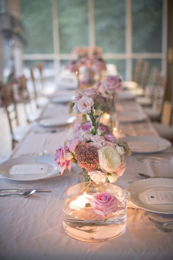 50 romantic wedding table decorations ideas for Decoration table mariage