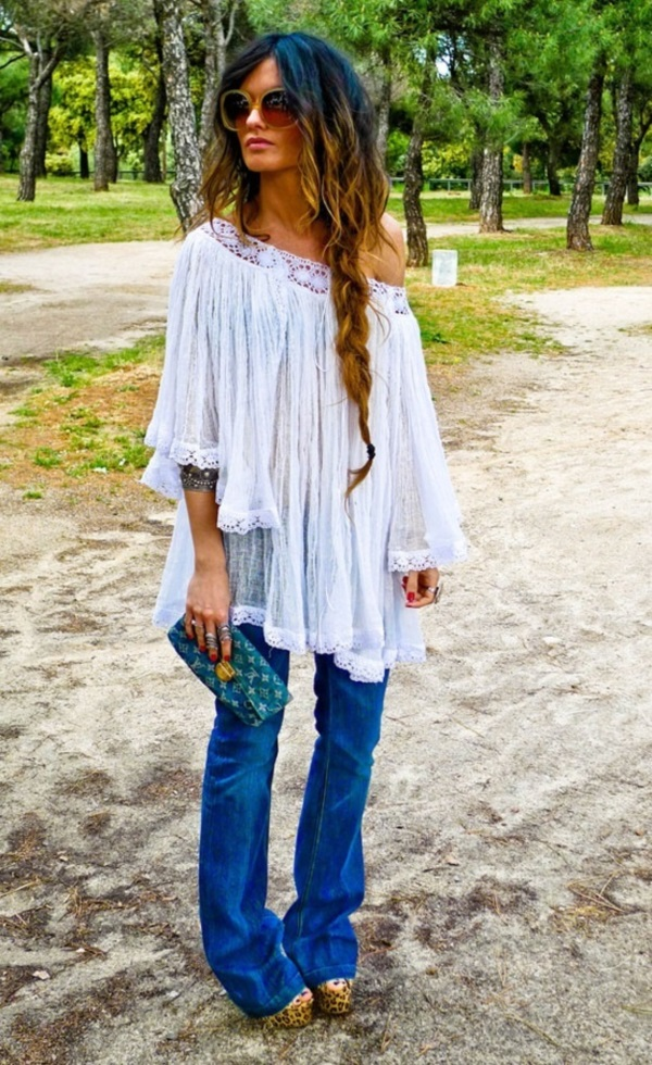 Adorable Boho Casual Outfits to Look Cool (18)