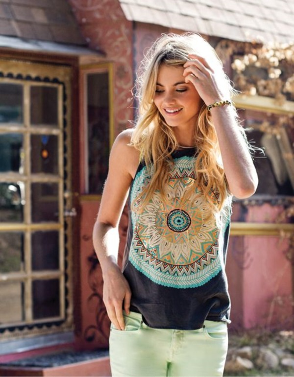 Adorable Boho Casual Outfits to Look Cool (26)
