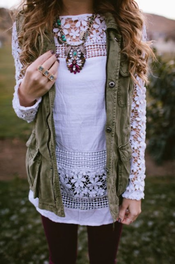 Adorable Boho Casual Outfits to Look Cool (33)