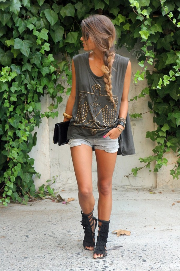 Adorable Boho Casual Outfits to Look Cool (6)