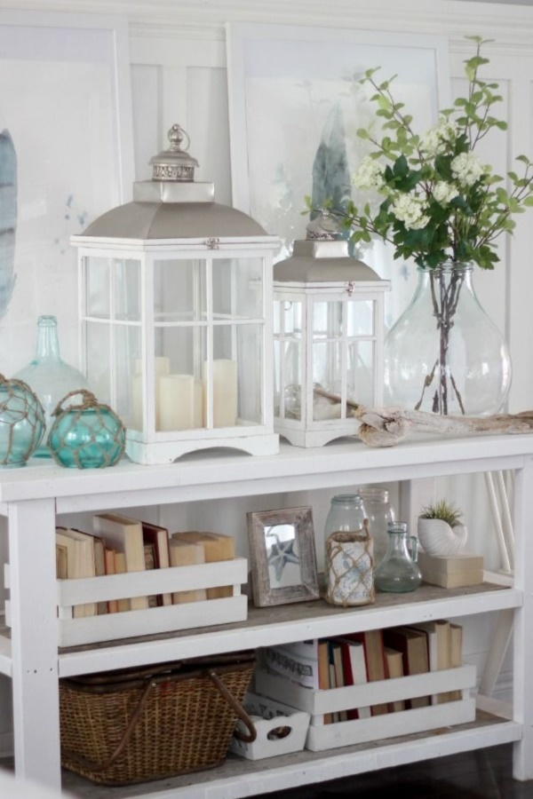 40 peaceful coastal decorating ideas for Summer beach house decor