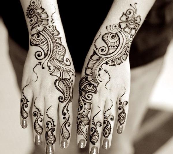 Beautiful Mehandi Designs For Weddings (18)