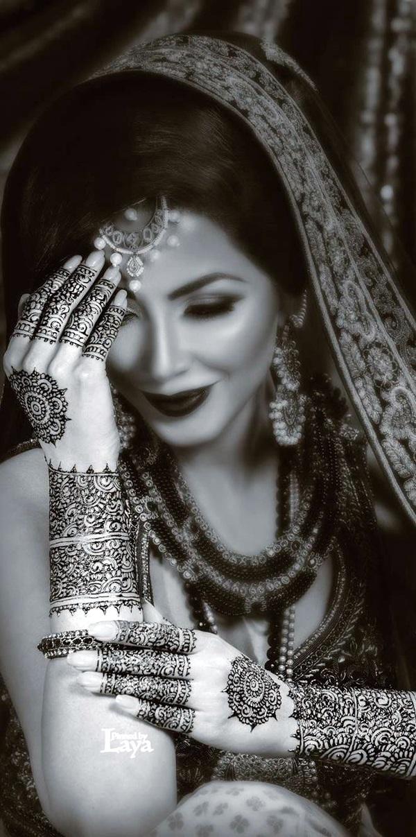 Beautiful Mehandi Designs For Weddings (20)