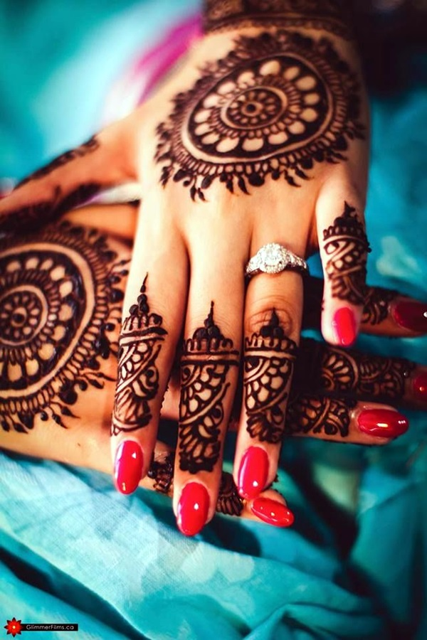 Beautiful Mehandi Designs For Weddings (21)