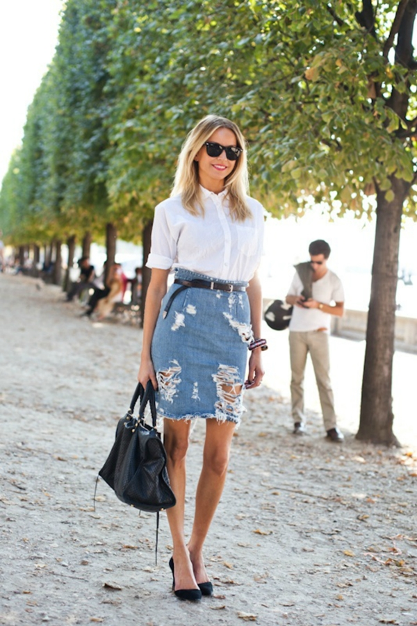 Must Try Skirt Outfits for summer 2016 - 14