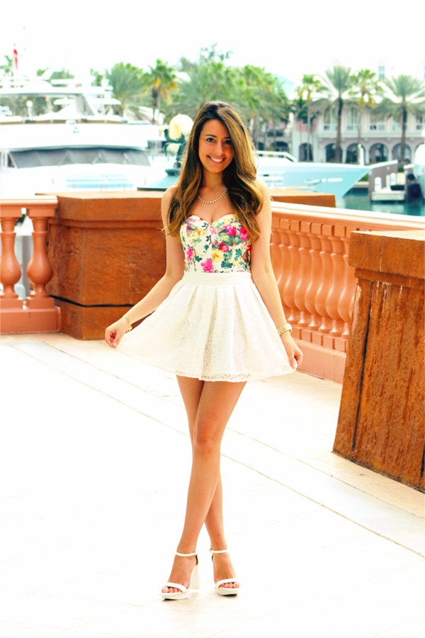 Must Try Skirt Outfits for summer 2016 - 16