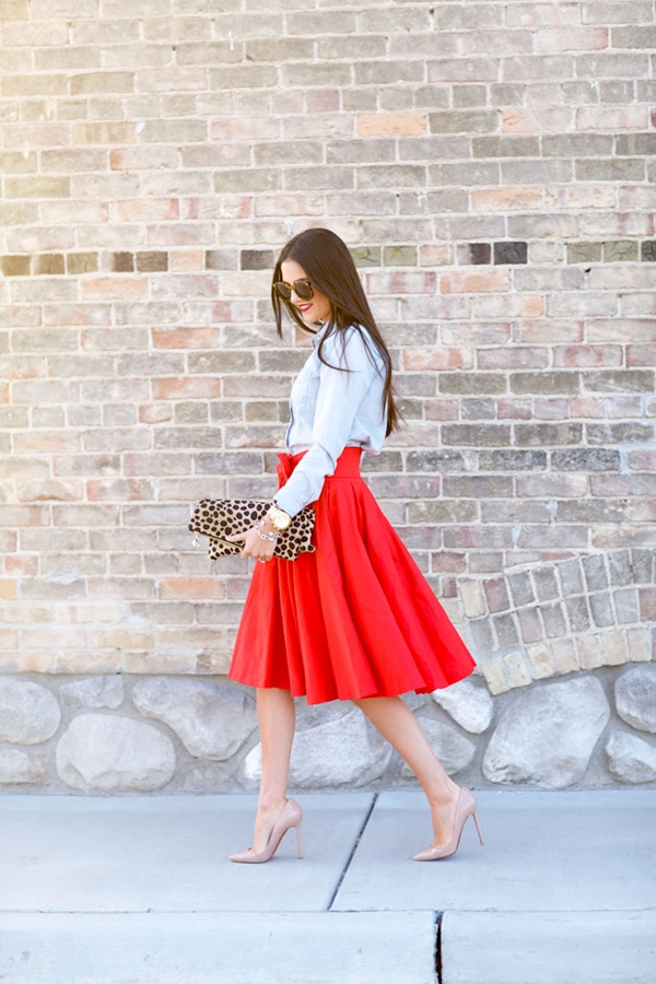 Must Try Skirt Outfits for summer 2016 - 23