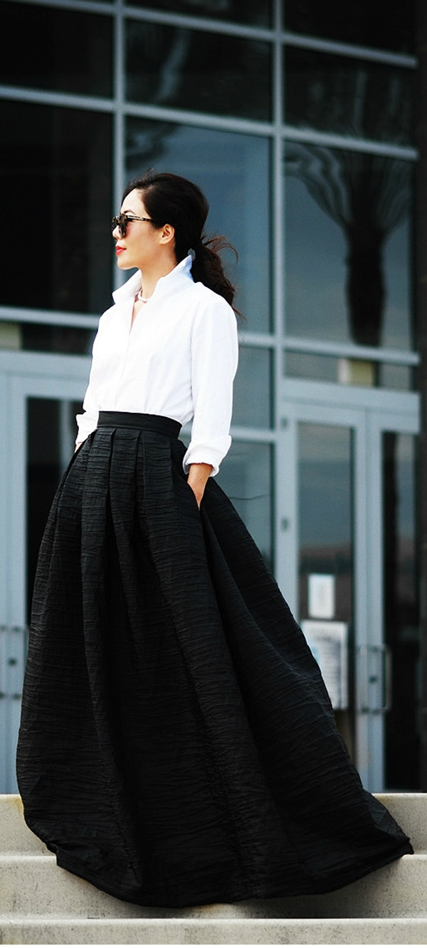 Must Try Skirt Outfits for summer 2016 - 29