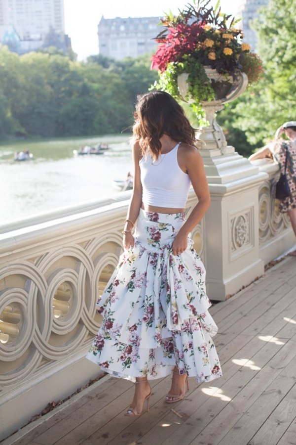 Must Try Skirt Outfits for summer 2016 - 3