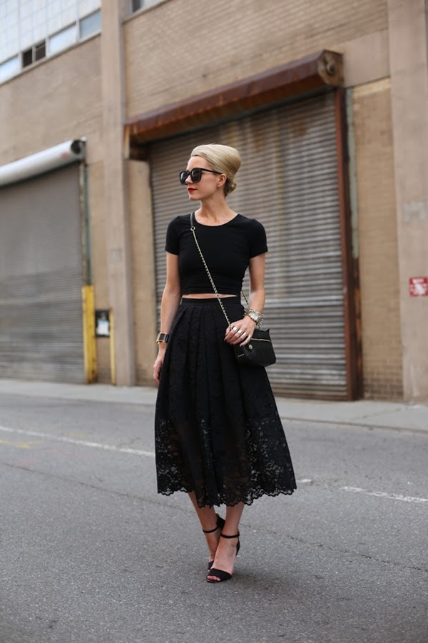 Must Try Skirt Outfits for summer 2016 - 9