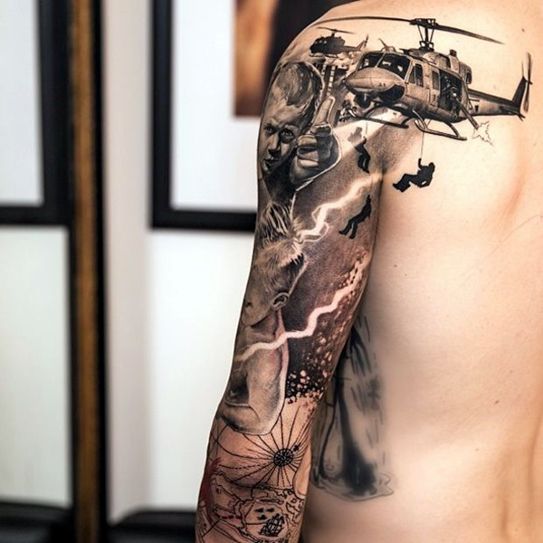 Noticable Arm Tattoo Designs For 2016 (17)