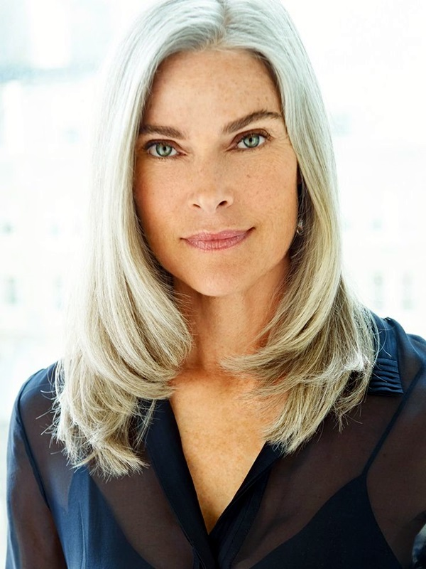 40 Simple and Beautiful Hairstyles for Older Women - Buzz 2017