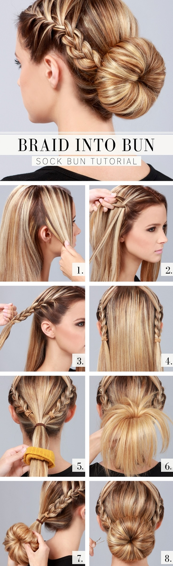Simple and Sexy Hairstyle for Teen Girls -10