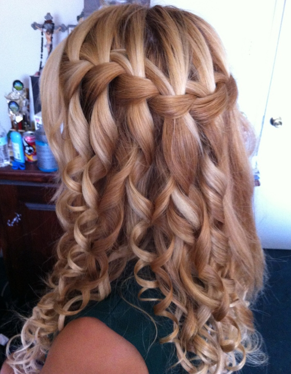 Simple and Sexy Hairstyle for Teen Girls -11
