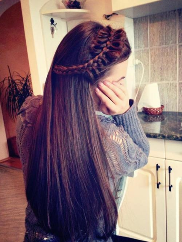 Simple and Sexy Hairstyle for Teen Girls -15