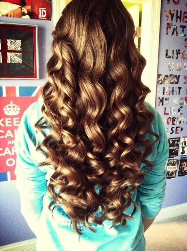 Simple and Sexy Hairstyle for Teen Girls -16