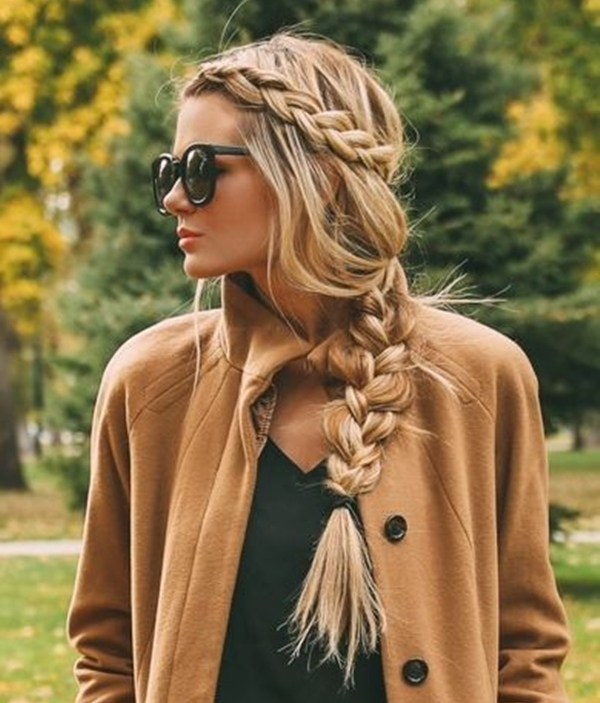 Simple and Sexy Hairstyle for Teen Girls -2