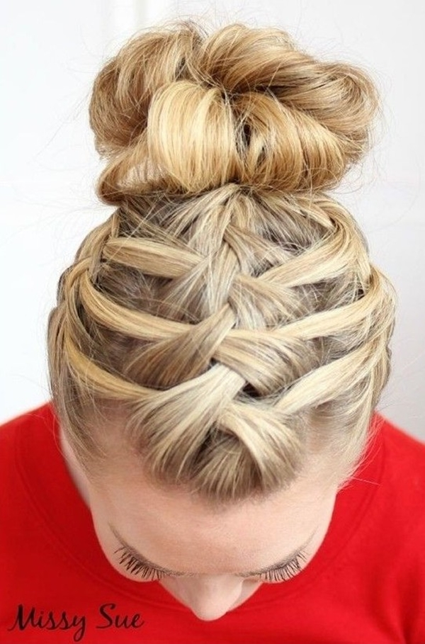 Simple and Sexy Hairstyle for Teen Girls -24