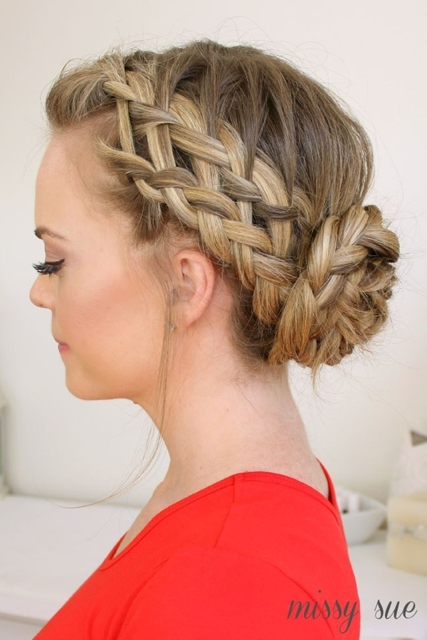 Simple and Sexy Hairstyle for Teen Girls -25