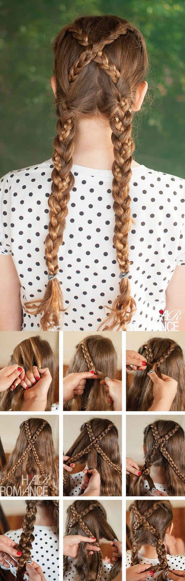 Simple and Sexy Hairstyle for Teen Girls -37