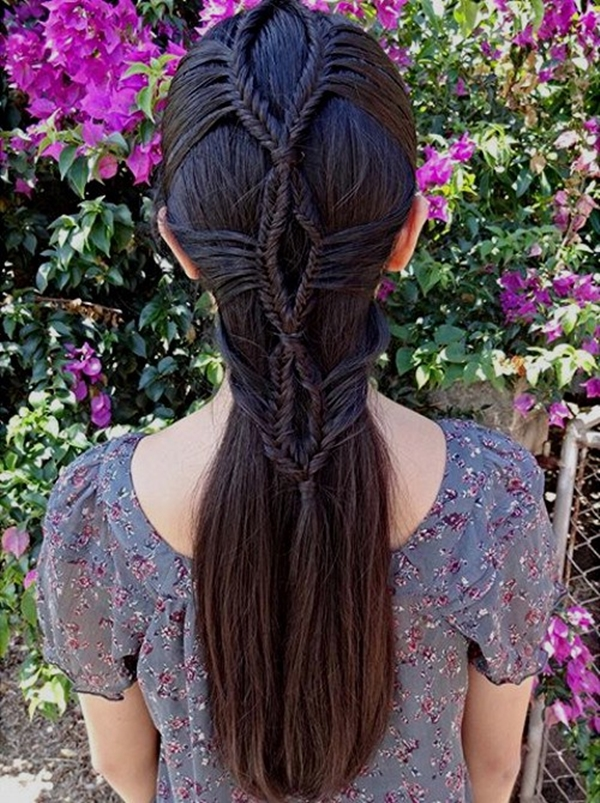Simple and Sexy Hairstyle for Teen Girls -40