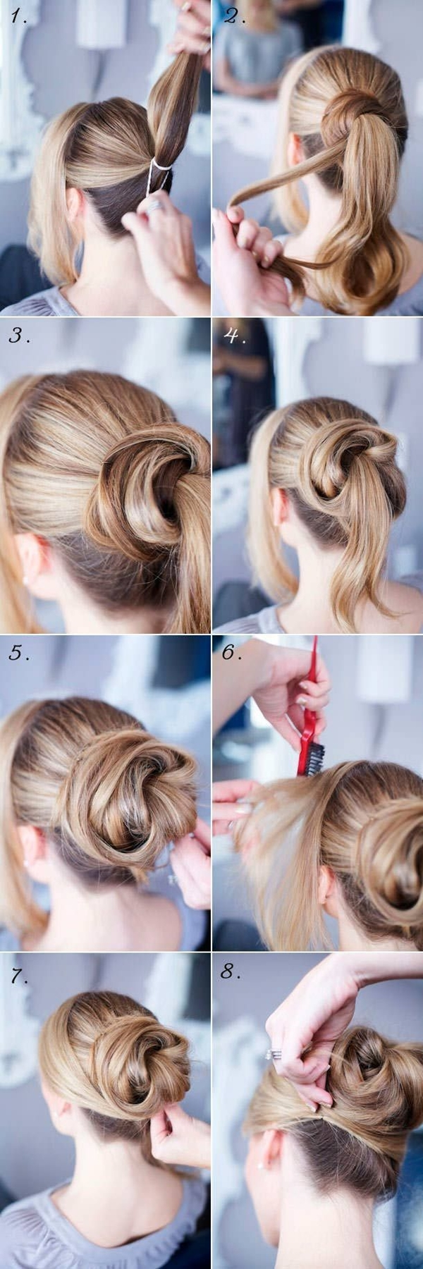 Simple and Sexy Hairstyle for Teen Girls -8