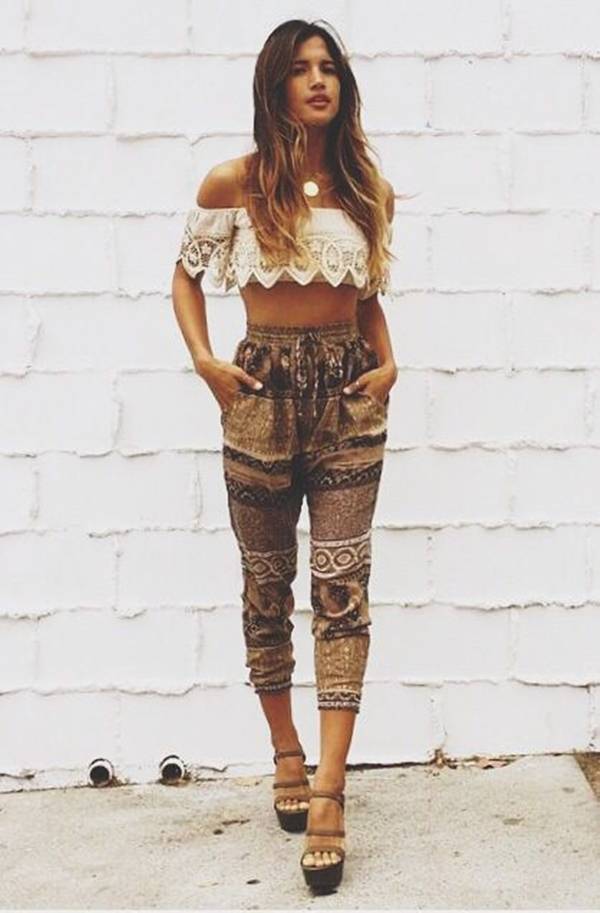 Worth Copying Boho Summer Outfits For 2016 -9
