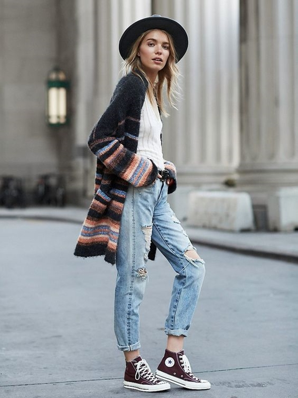 40 Cool and Classic Indie Outfits For Teens - 30