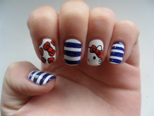 Clever Nail Designs Ideas for School Kids0001