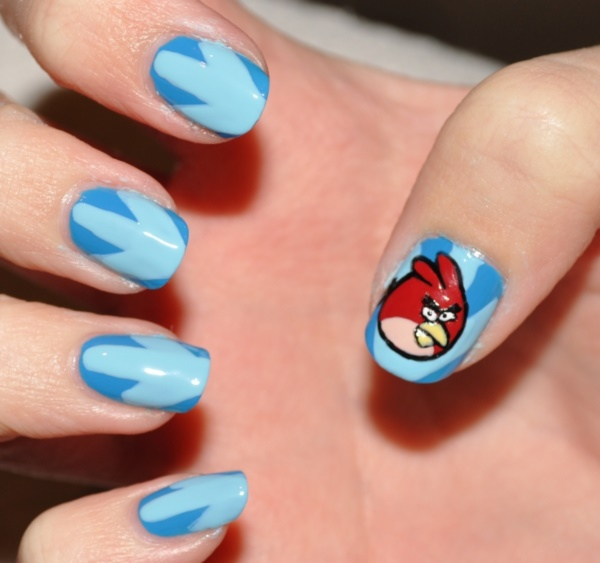 Clever Nail Designs Ideas for School Kids0011