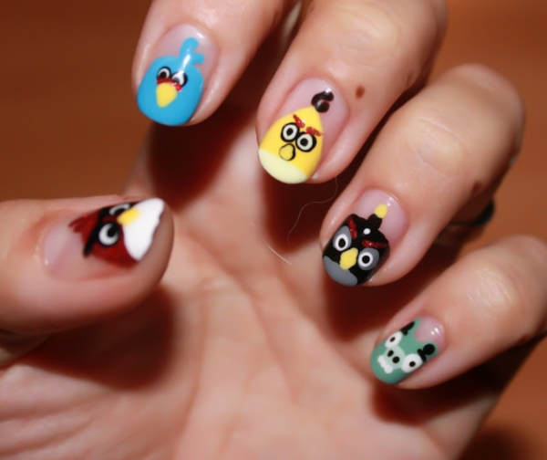 Clever Nail Designs Ideas for School Kids0021