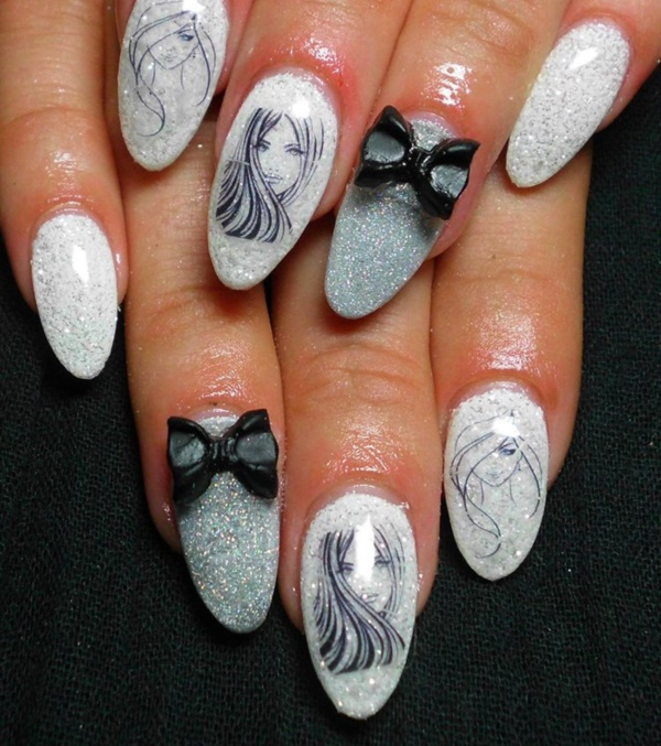 clever nail designs ideas for school kids0041 - Ideas For Nails Design