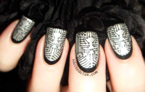 Clever Nail Designs Ideas for School Kids0051